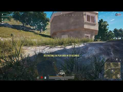 A Grass Covered Llama Wins For His Squad - PUBG Ghillie Win