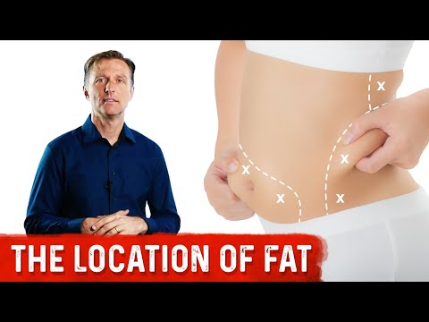 Body Fat Location Can Predict Disease