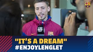 """Lenglet: """"I am really happy and proud to wear this shirt"""""""