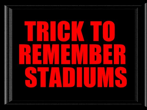 Trick to Remember STADIUMS in India