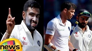 virat kohli and ashwin fight with anderson at middle of day 5 play   india vs england 4th test 2016