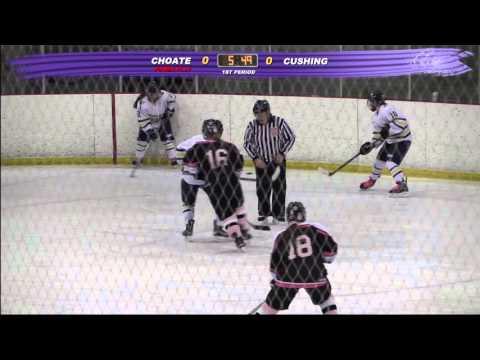 Cushing Academy - Varsity Girls Ice Hockey vs. Choate Rosemary Hall