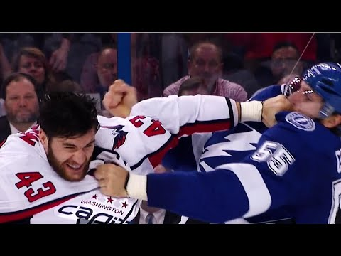Wilson and Coburn exchange a flurry of fists in Game 7
