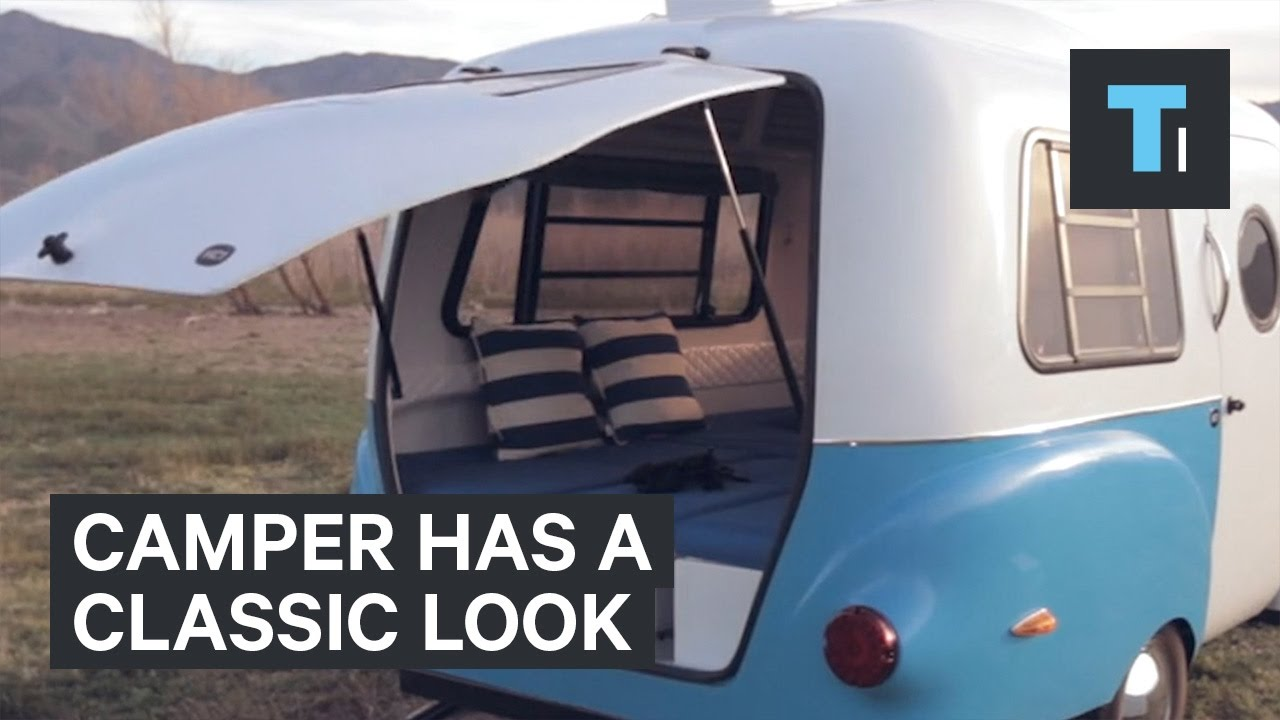 This Mini Camper Runs On Retro Vibes Youtube