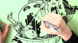 HIGHLIGHTS TV: BOLESLAV FRESH X MOLOTOW GRAFX AQUA INK.