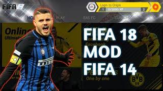 FIFA 18 Mod FIFA 14 Android Offline Hd Graphics (New menu,kits,transfers)