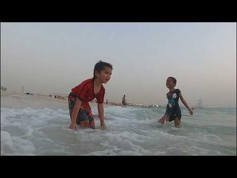 An evening at Kite beach, Dubai