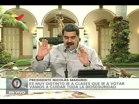 Presidente Maduro en jornada educativa por inicio de clases a distancia, 15 septiembre 2020