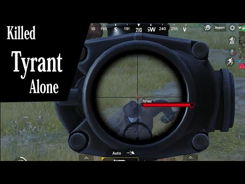Sri Lankan Panda PUBG Mobile - Killed Tyrant (Boss) Alone