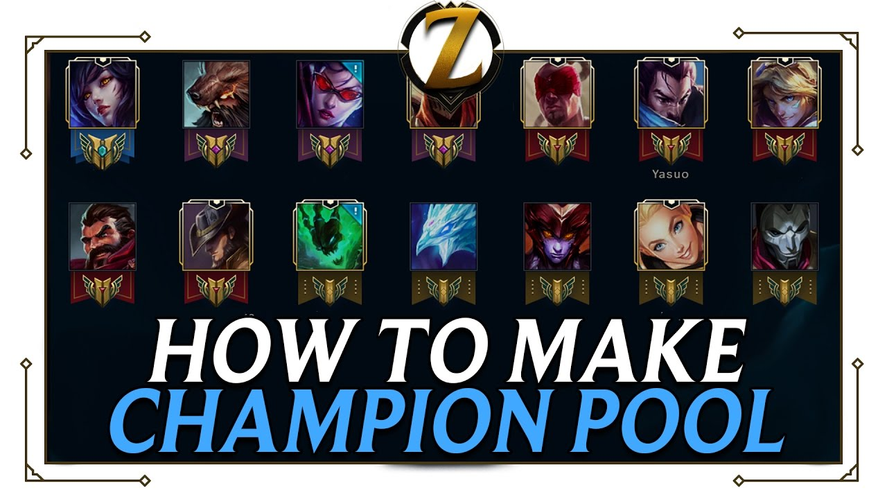 League of Legends champion pool