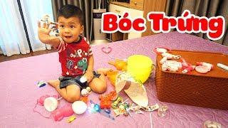 trò chơi bé bắp săn trứng tìm đồ chơi trẻ em