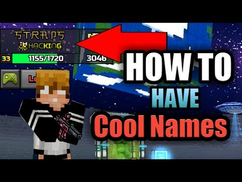 *How To Have A Cool Name In PG3D* | Pixel Gun 3D Tutorial [strapsgaming266]