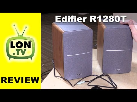 Edifier R1280T Speakers Review - $99 Powered Bookshelf Speakers For PCs, Consoles, Etc