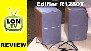 Edifier R1280T Speakers Review – $99 Powered bookshelf speakers for PCs, consoles, etc