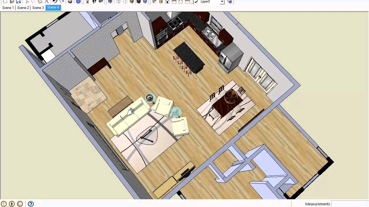 How To Arrange Furniture in Open Floor Plans - YouTube