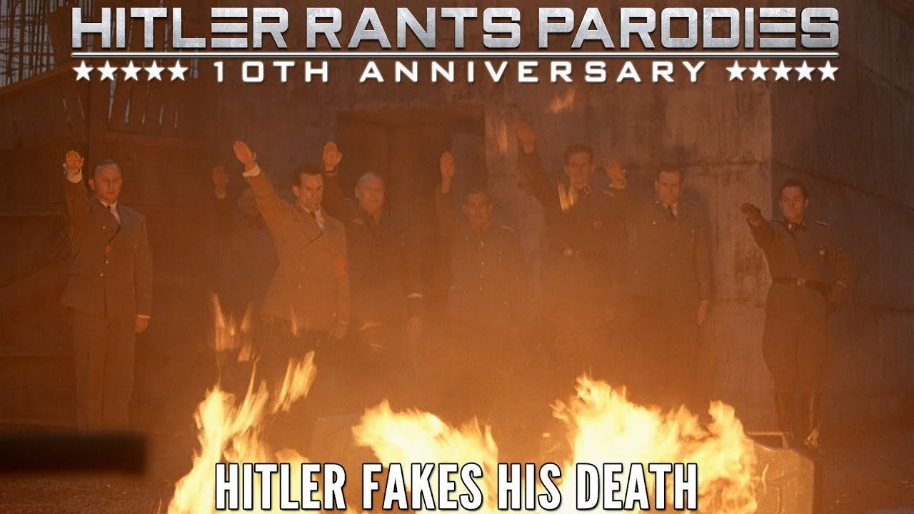Hitler fakes his death