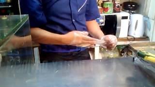 Shawarma maker Moscow Avtozavodskaya - Шаурма - Донер Кабаб