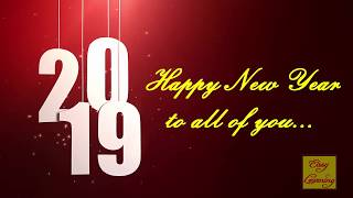COOL NEW YEAR 2019 I NEW YEAR WHATSAPP STATUS VIDEO I NEW YEAR WISHES GREETINGS MUSIC MESSAGES