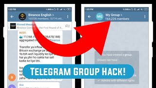 😱 Telegram Hack | Add Members from any Group to your Group in 2 minutes screenshot 3