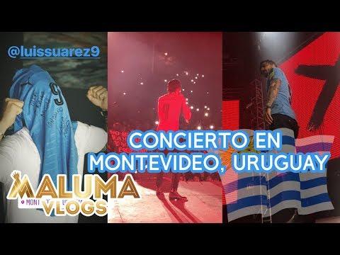 Concierto Maluma en Montevideo, Uruguay | MalumaVlogs