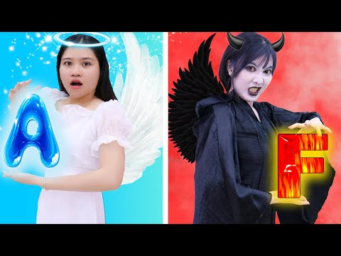 8 CRAZY PRANKS EVERYONE NEEDS TO KNOW AND TRY | OMG! ANGEL VS DEMON PRANK YOUR FRIENDS AND FAMILY