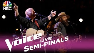 """The Voice 2017 Adam Cunningham & Red Marlow - Semifinals: """"Can't You See"""""""