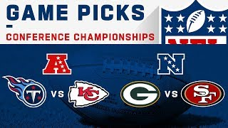 Conference Championships Game Picks | NFL 2019