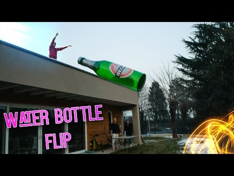 WATER BOTTLE FLIP PIU' GRANDE D'ITALIA! ?/05/2017