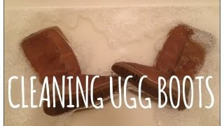 How To Deep Clean Ugg Boots!