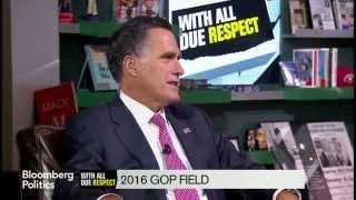 Romney: 'I'm Not Running, I'm Not Planning on Running'
