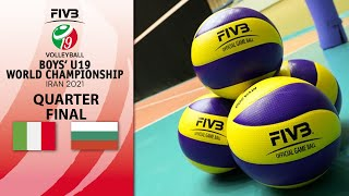 LIVE 🔴 ITA vs. BUL - Quarter Final 1