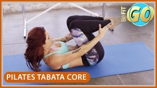 Pilates Powerhouse Tabata Core Workout: 10 Min- BeFiT GO