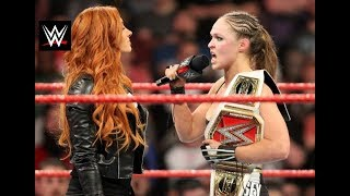 WWE Raw Results | Ronda Rousey Not afraid to face Man Superstar 2019