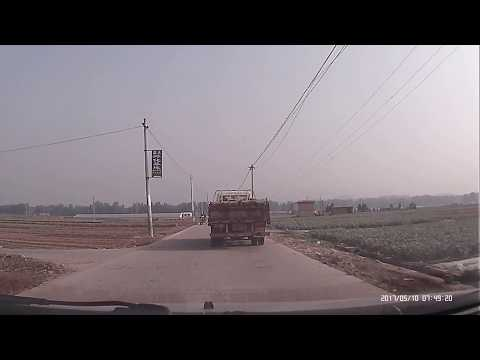 Driving in China: Back to Hometown Village In Shandong Laiwu