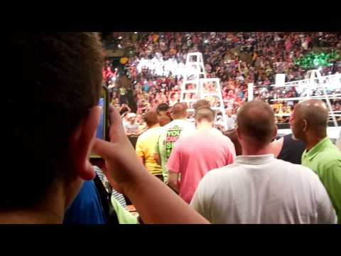 WWE Money In The Bank 2014 - Championship Ladder Match Entrances