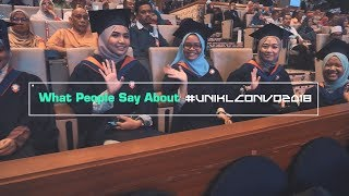 What People Say About UniKL Convocation 2018
