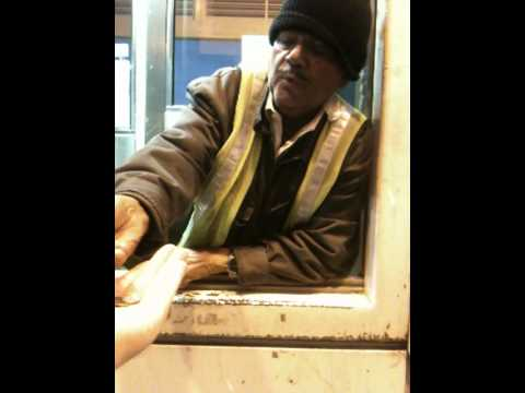 Crazy Toll Booth Attendant