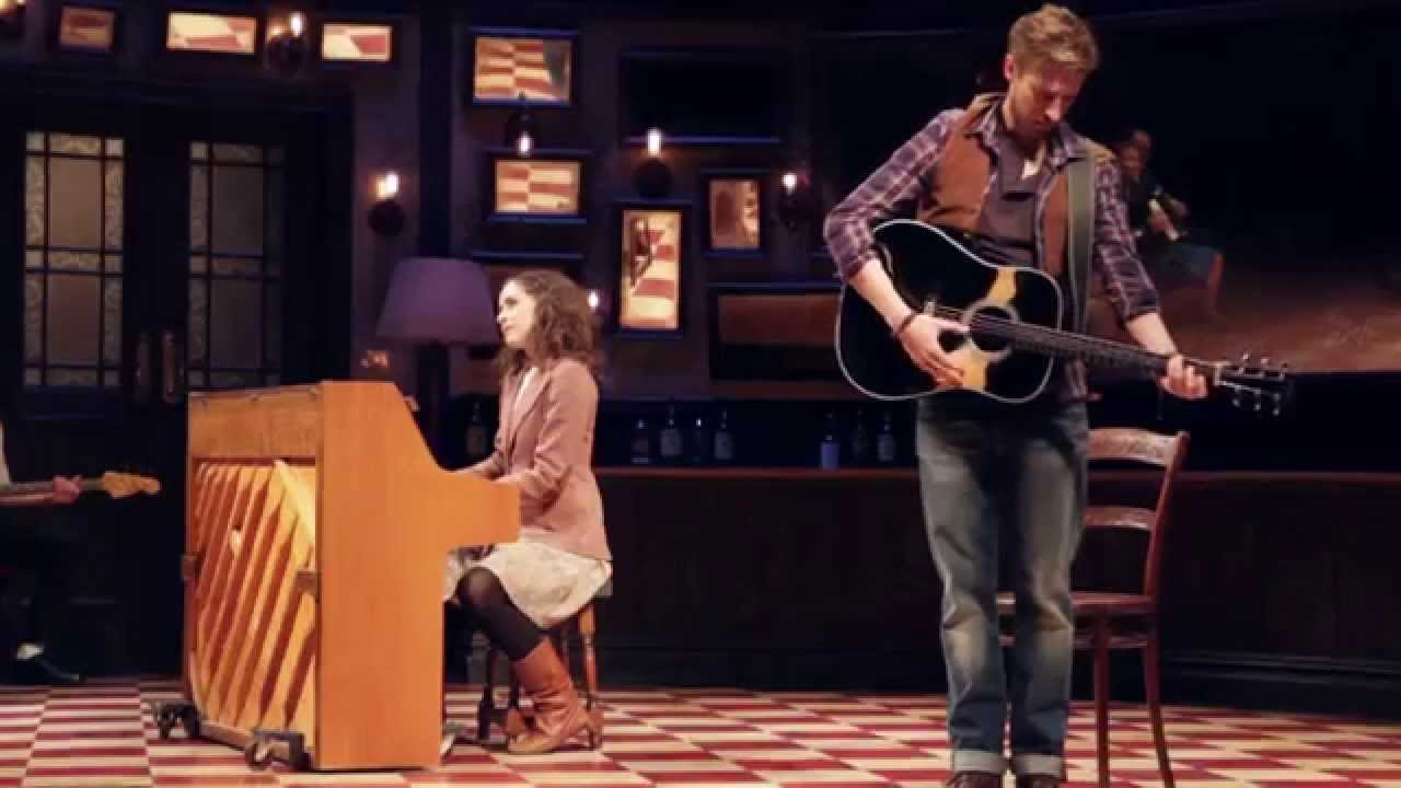 Falling Slowly Once The Musical Phoenix Theatre London Youtube