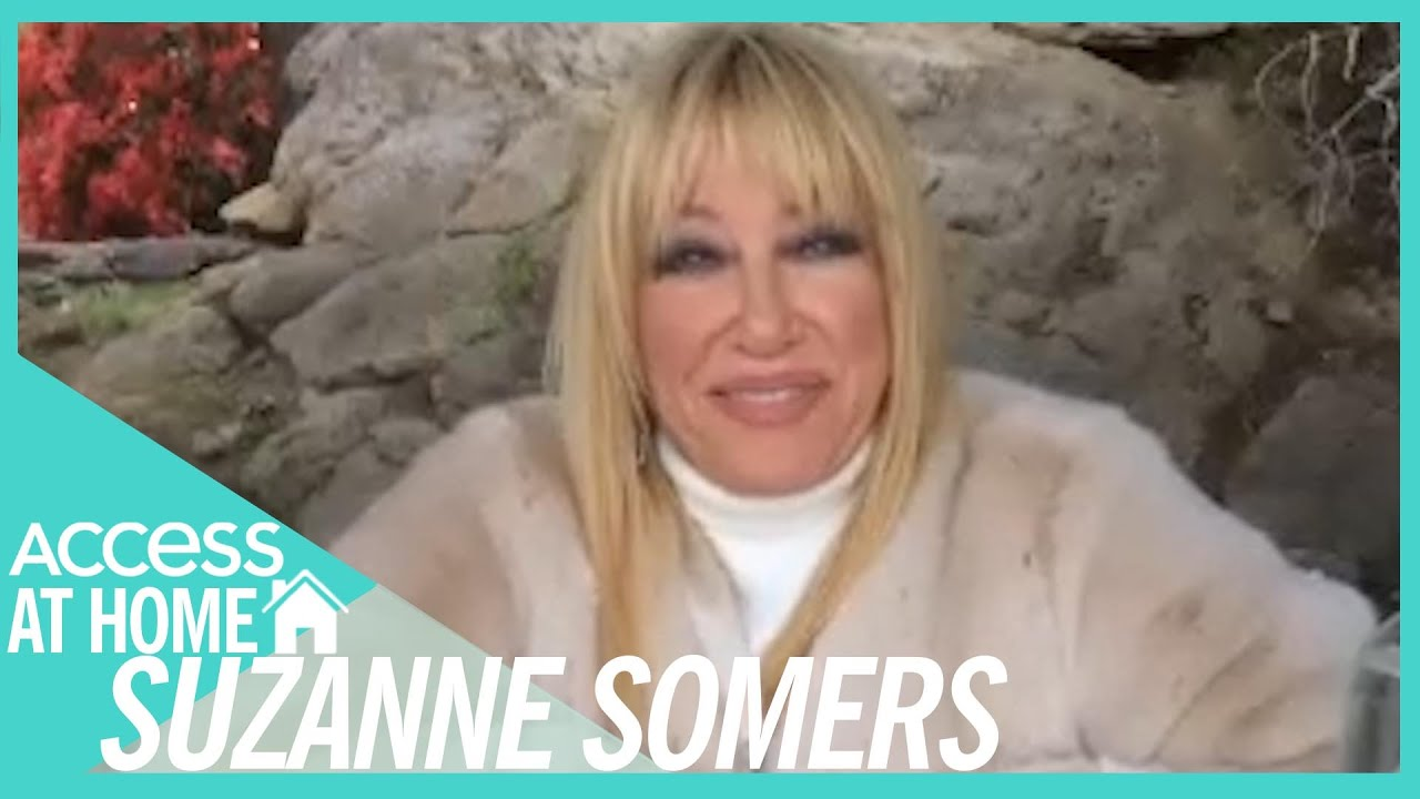 Suzanne Somers Wants To Pose For Playboy For 75th Birthday | #AccessAtHome