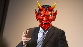 GOP Governor Hilariously Battles Satanists