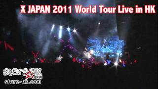 X JAPAN 2011 World Tour Live in Hong Kong