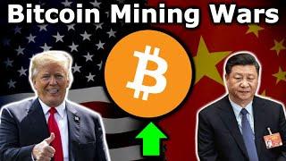 US WILL STEAL BITCOIN MINING POWER FROM CHINA - Bitcoin $11K Next Week? - Trump Fed Digital Dollar