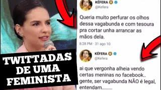 TWITTADAS DA KÉFERA FEMINISTA LACRADORA DA LACRAÇÃO | #OPORTUGUES