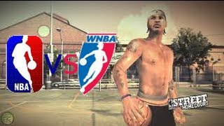NBA Street Homecourt (PS3) NBA vs WNBA