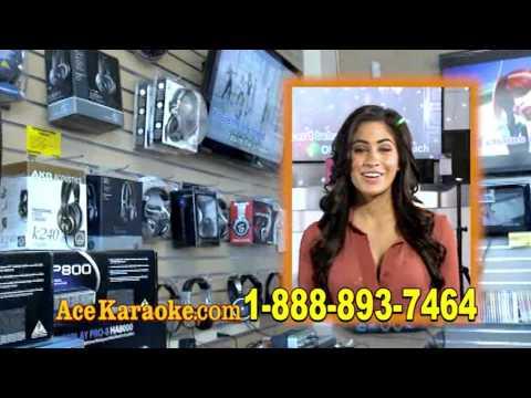 Ace Karaoke English Commercial