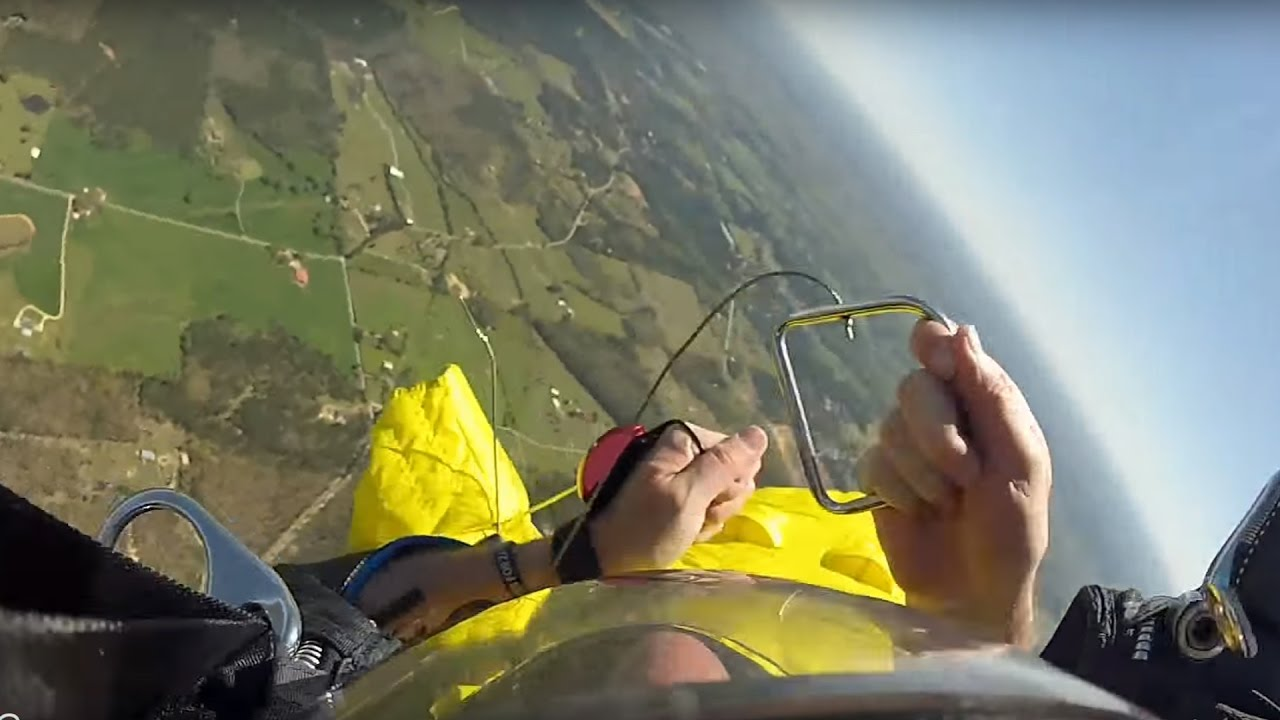 Friday Freakout: Messy Wingsuit Cutaway & Head Down Reserve Parachute Opening