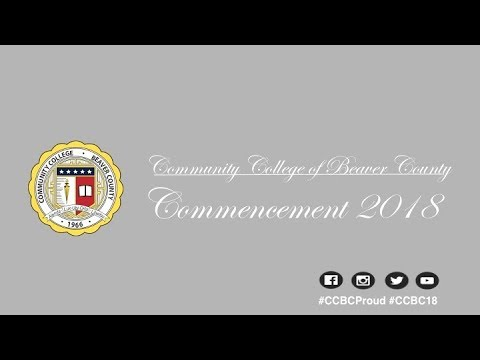 Community College of Beaver County 2018 Commencement