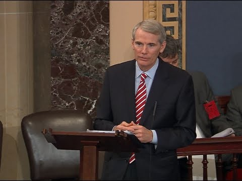 Portman Discusses Obamacare on Senate Floor