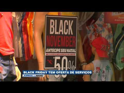 Comerciantes vivem expectativa do Black Friday