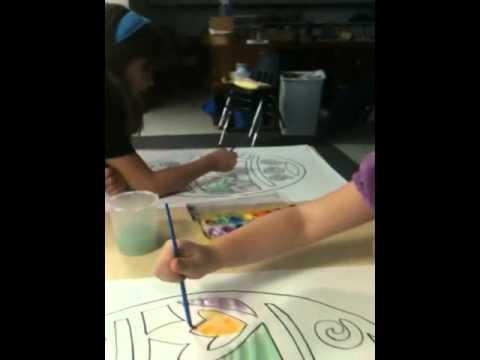 Suntree Montessori Painting Video